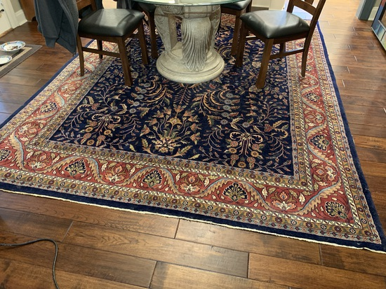 Beautiful Well Made Area Rug. 96 inches wide x 119 inches long
