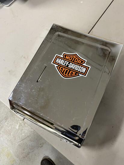 Harley Davidson Paper Towel Napkin Dispenser