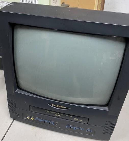 "Sylvania VHS 13"" TV Combo"