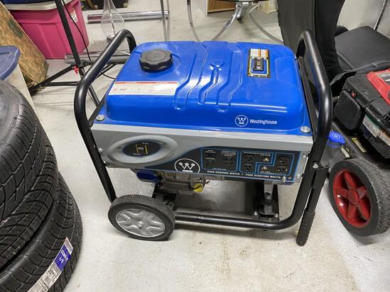 Nice Westinghouse 6500/7500 watt generator