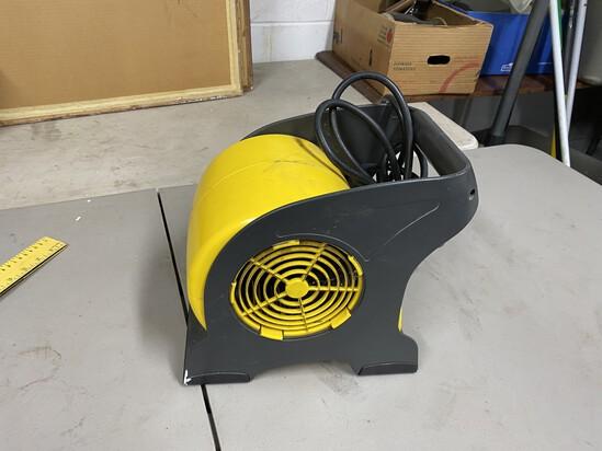 Commercial floor dryer fan machine