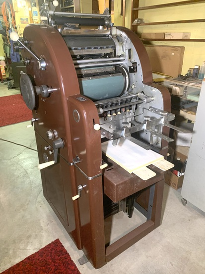 Very Nice! A.B.Dick 360 Offset Printing Press  Runs.