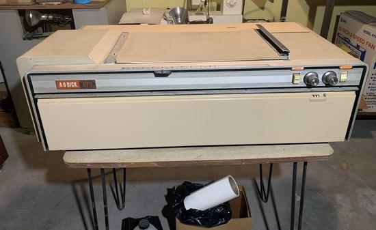 A.B Dick 675 Copy Machine