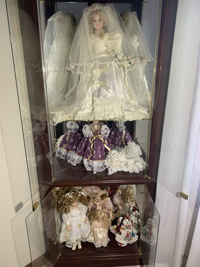 Group of Beautifully Made Dolls