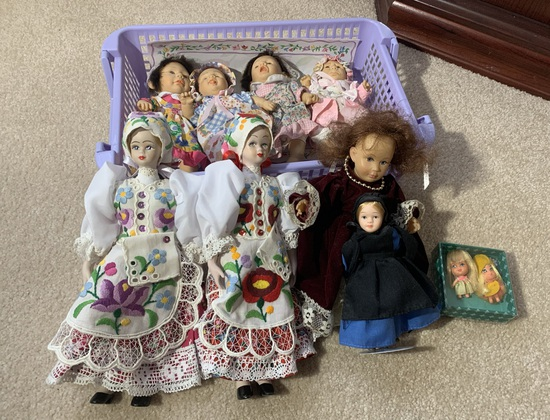 4 GI-GO Ugly Face Dolls & Assortment of Other Dolls