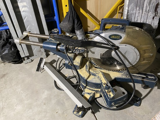 GMC 15 Amp Sliding Compound Miter Saw