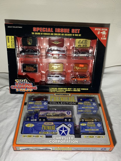 Racing Champions Mint Series Car Set & Matchbox Chrysler Collection