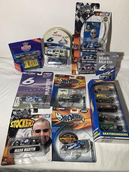 Mark Martin Collectibles, Racing Action Collectables, Hot Wheels & More