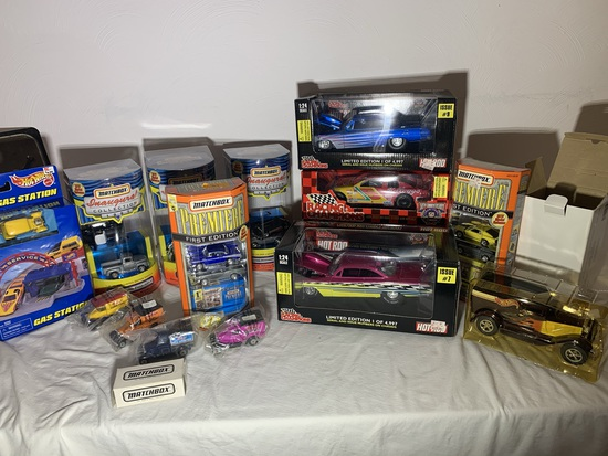 Diecast Cars, Matchbox Inaugural Collection, Matchbox Premiere, Hot Wheels & More