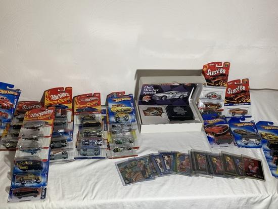 NASCAR Racing Cards, Racing Champions Club Member Set, Hot Wheels Series Since 68, Classics & More