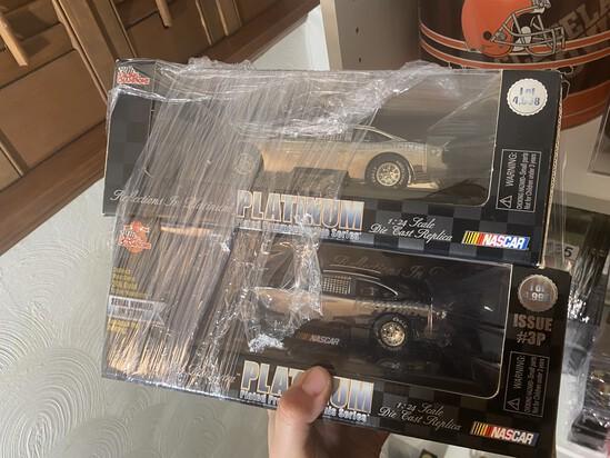 2 Platinum NASCAR 1:24 Scale diecast Cars