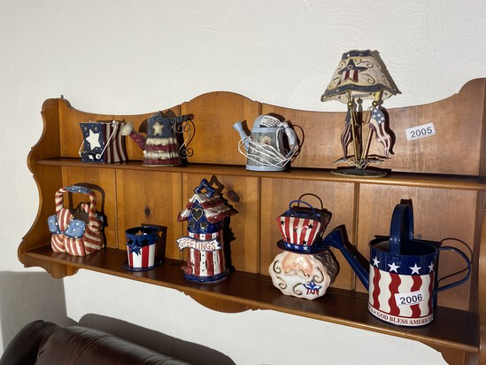 Patriotic items and more on shelves