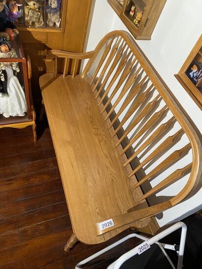 Nice Oak Vintage Bench