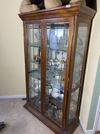 Large Better Curio or Display Cabinet