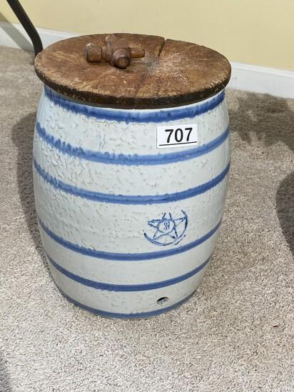 Nice Antique Blue Star 3 Gallon Water Cooler