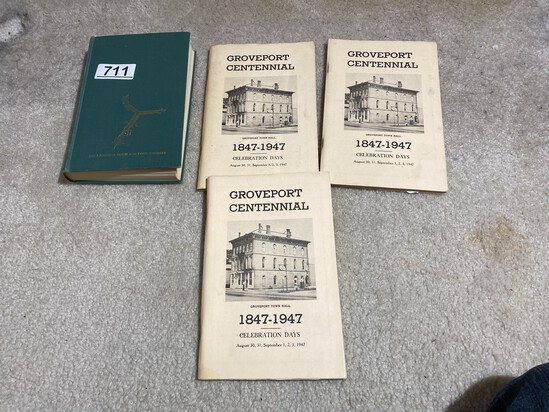 Y Bridge Zanesville book PLUS Groveport Centennial