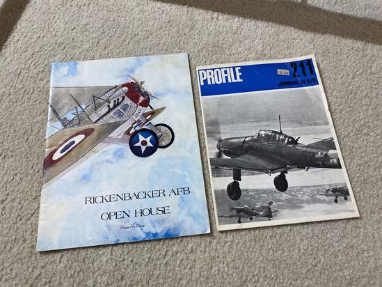Old Rickenbacker Open House Brochure