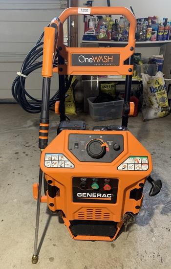 Generac One Wash 2000-3100 PSI Power Washer