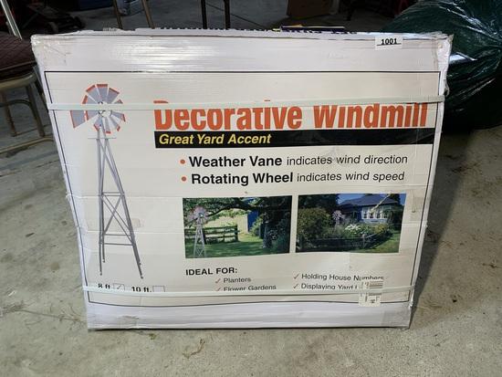 New In Box! Decorative Windmill 8ft Tall