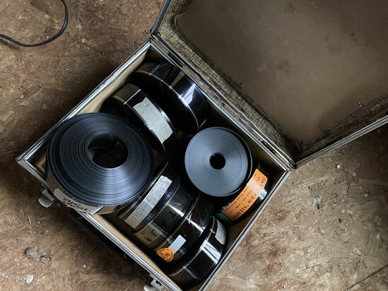 Large Lot of Various Movie Preview Films