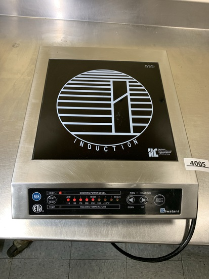 Iwatani IWA-1800 Tabletop Single-Burner Electric Stove Induction Burner