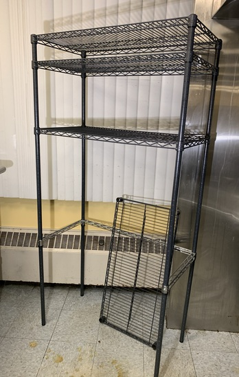 NSF Coated Wire Shelving Unit