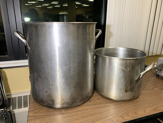 1 Vollrath Pot  & 1 Smaller Pot