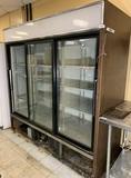 True 3 Door Reach in Refrigerator