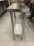 Durasteel Stainless Steel Small Prep Table with Adjustable Legs