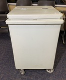 Cambro Tall Ice Caddy, Mobile with Drain Faucet