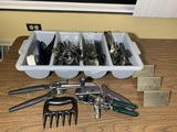 Assortment of Flatware, Can Openers & Other Kitchen Items