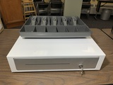 Cash Drawer with Extra Insert and Keys