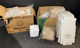 Food Storage Containers & Boxes.  See Photos
