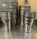 Stainless Steel Round Inset Pan