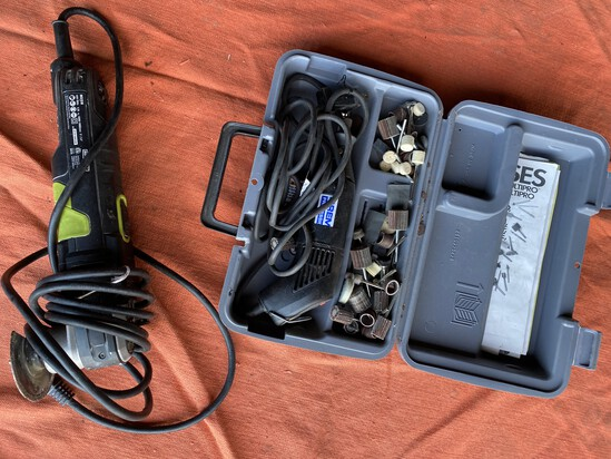 Dremel Tool, Accessories PLUS Rockwell Sonocrafter