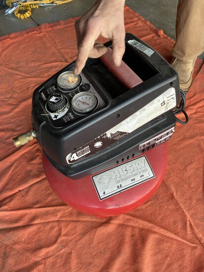 Husky Pancake Air Compressor