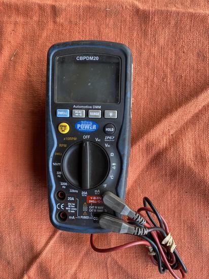 Cornwell Blue Power Multimeter