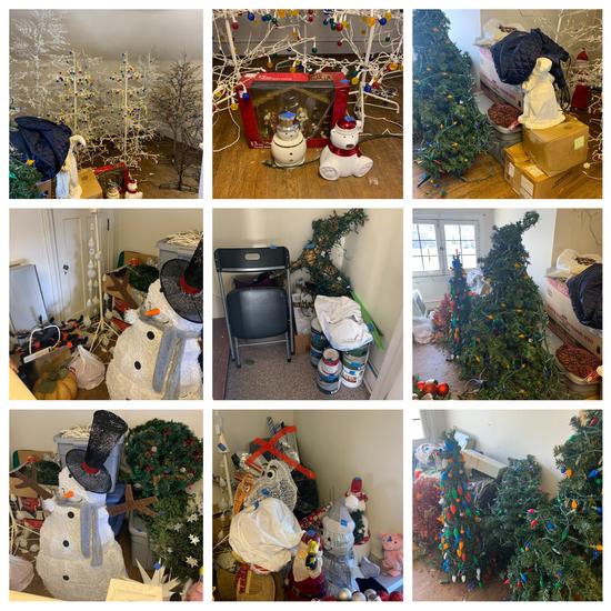 Wonderful Light Christmas Lot and more