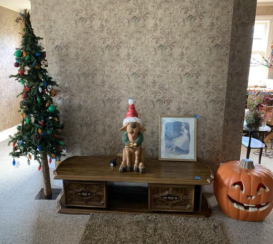Coffee Table, Christmas Tree, Pumpkin & More