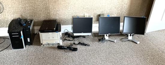 Dell Computer Monitors, Computer Tower, Samsung Laptop & More