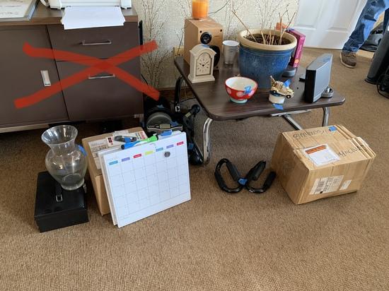 Side Table, Calendars, Bose Speaker & More