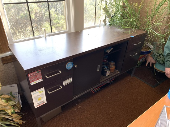 Credenza with Contents