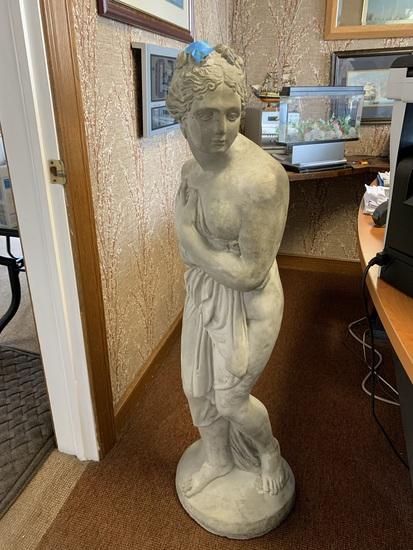 Cement Garden Statue 46 inches High