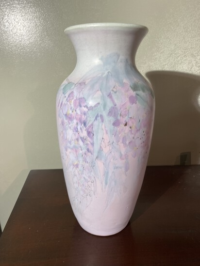 "Rare Weller Art Pottery Vase 15"" high excellent condition"