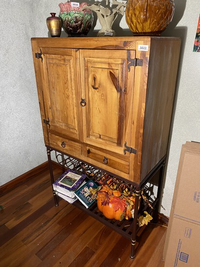 Nice Wine Rack Wooden Storage Cabinet