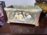 Very Rare Weller Art Pottery with Maidens Excellent Condition