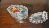 Glass jar with Italian Glass candies
