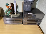 Pioneer tape deck, amp, tuner, equalizer lot