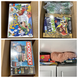 Large lot of assorted games including new in box