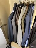 Group lot of nicer men's sport coats